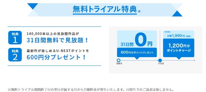 U-NEXT|無料